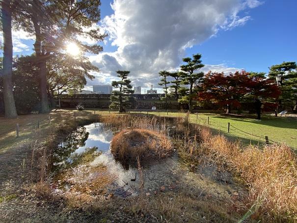 岡山城 泉水
