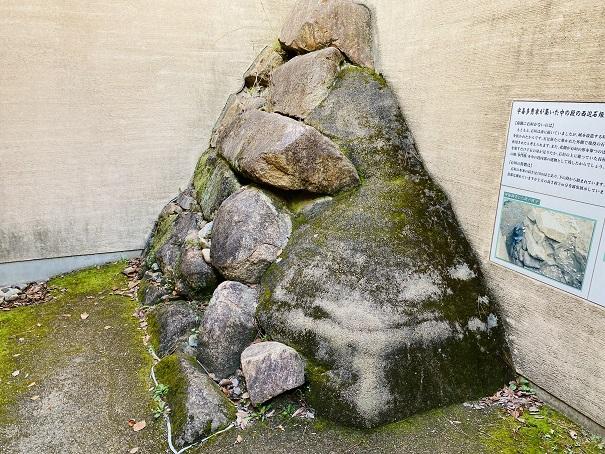 岡山城 築城時の石垣2