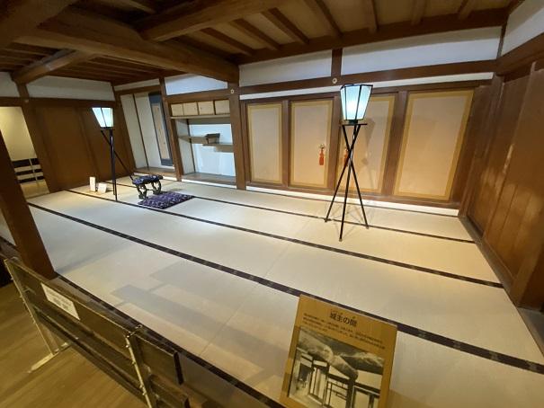 岡山城 城主の部屋