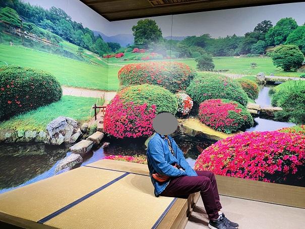 岡山城 後楽園風景写真