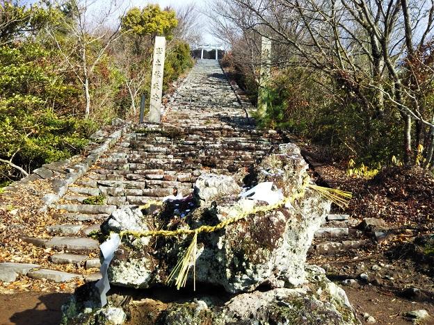 高屋神社 ゆるぎ岩