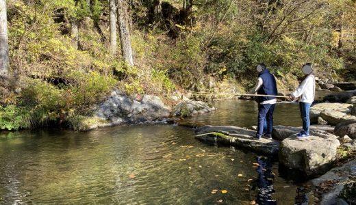 阿波フィッシングパーク ニジマスの渓流釣りが楽しめる 津山市