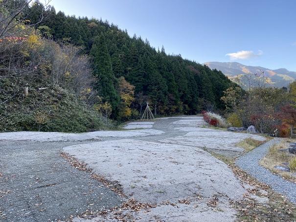 落岩園地 キャンプサイト