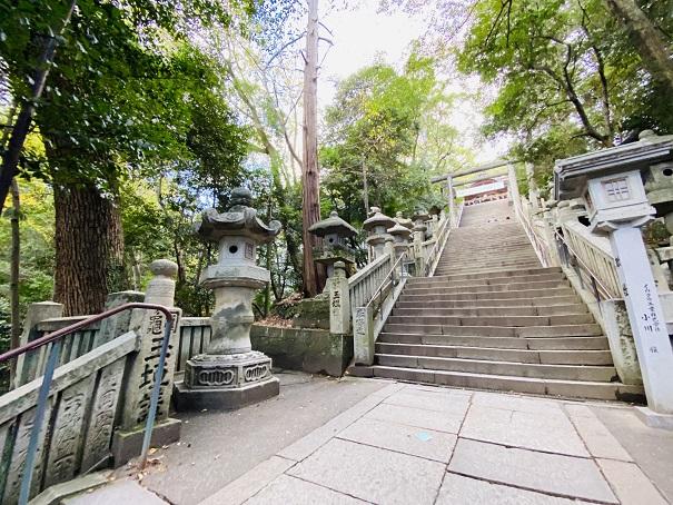金比羅山本宮への心臓破りの階段