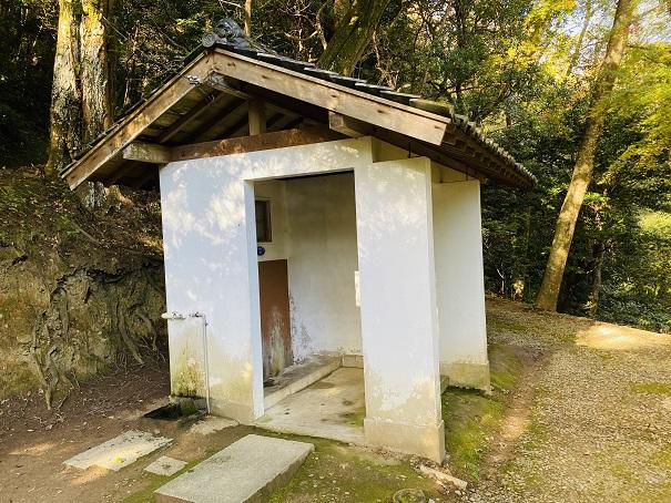 白峰神社トイレ