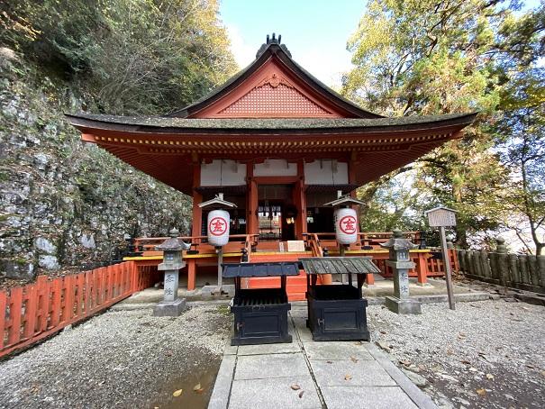 厳魂神社本堂(奥社)