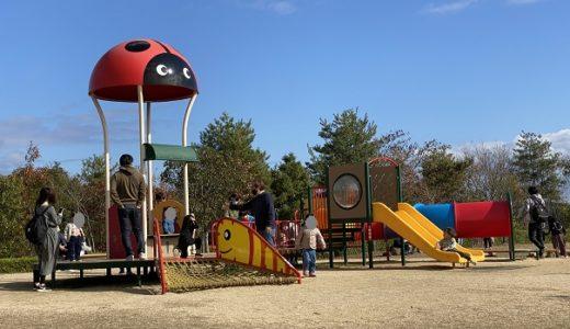 日応寺自然の森スポーツ広場 パターゴルフやテニスコートや遊具がある公園 岡山市