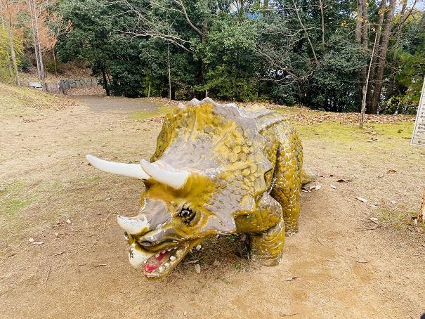 太古の森 トリケラトプス