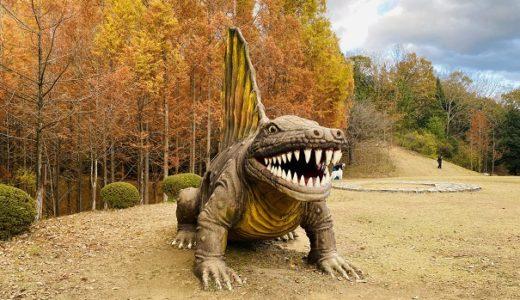 太古の森 恐竜に出会えるメタセコイヤの森 秋の紅葉 三木町