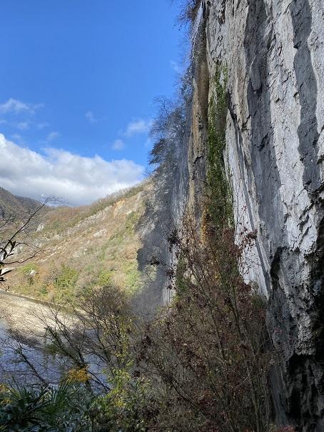 井倉洞 滝