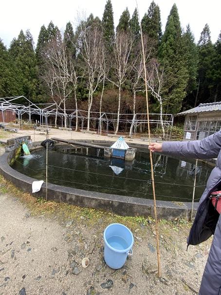 花見養魚センター 釣り道具