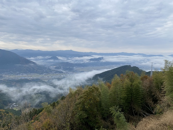 雲海展望公園からの眺望
