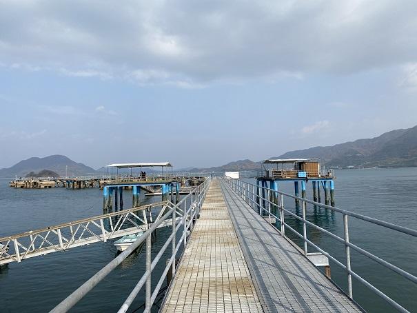 フィッシングパーク大三島 桟橋