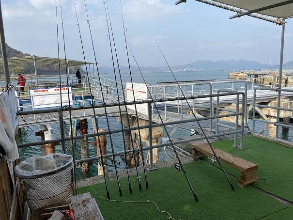 フィッシングパーク大三島 貸出釣り竿