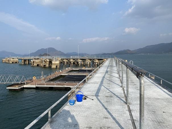 フィッシングパーク大三島 釣り桟橋