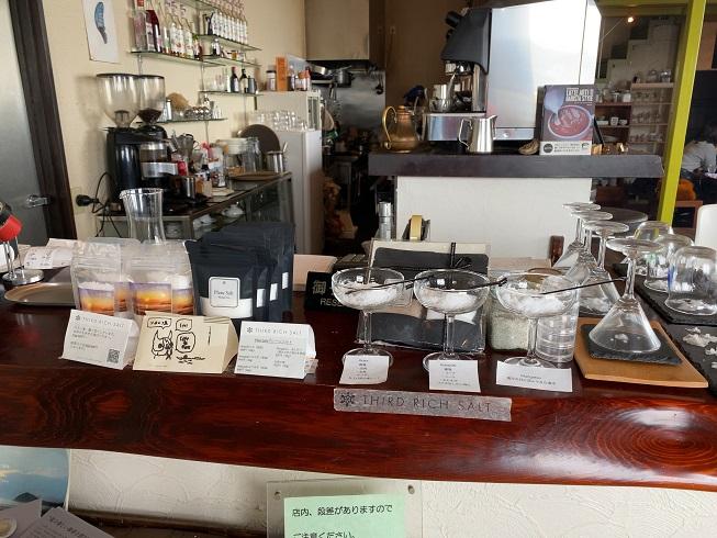 cafe de flots(カフェ ド フロ)  塩