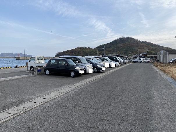 須田港 駐車場1