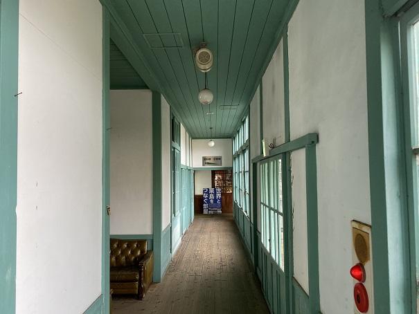 粟島海洋記念館 廊下