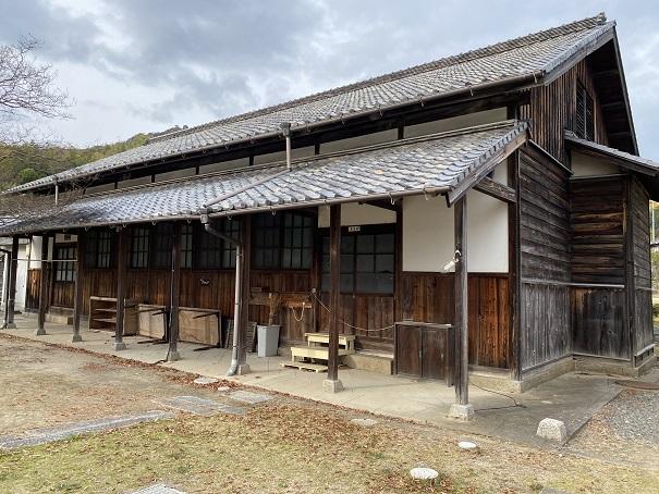 粟島海洋記念館 武道場