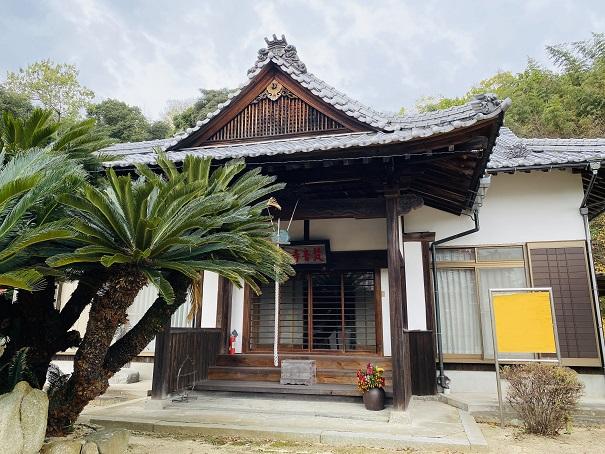 粟島 梵音寺 本堂