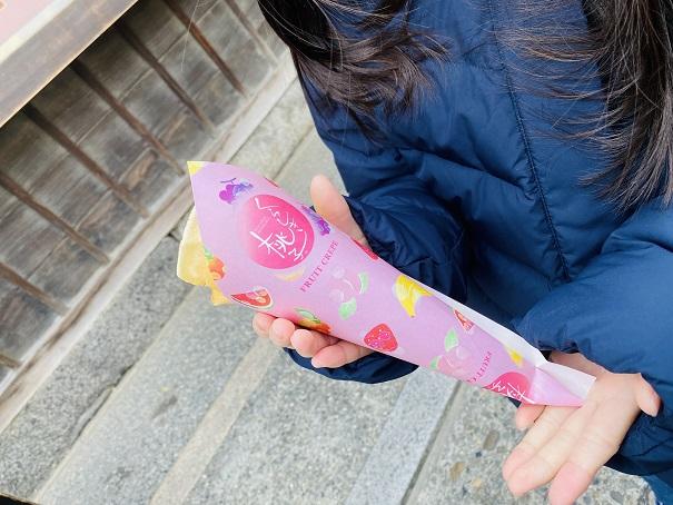 くらしき桃子 クレープ