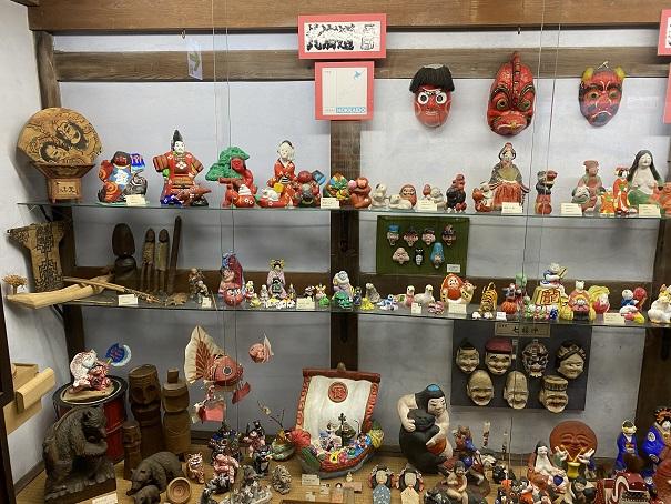 日本郷土玩具 第1室北海道