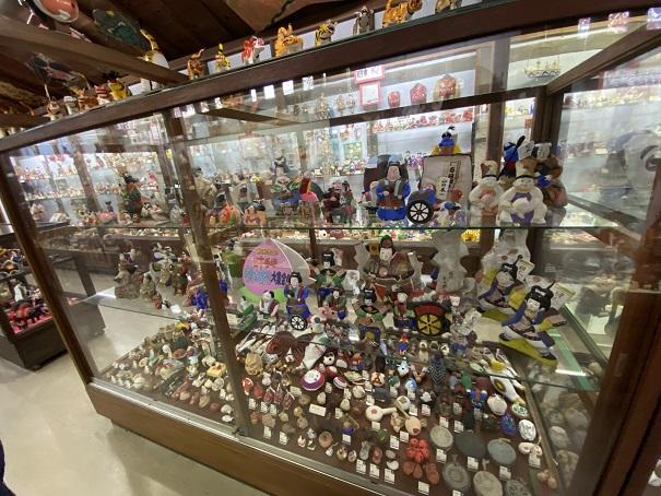 日本郷土玩具館 第1室 桃太郎