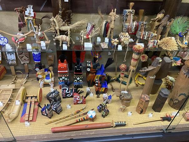 日本郷土玩具館 木の玩具
