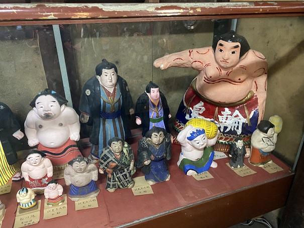 日本郷土玩具館 第3室お相撲さん