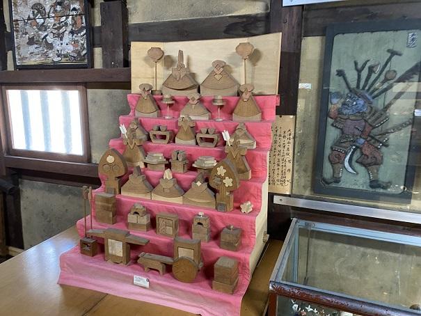 日本郷土玩具館 組木ひな人形