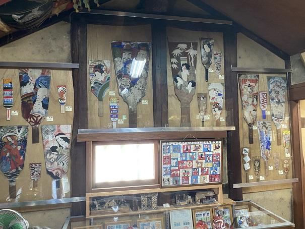 日本郷土玩具館 羽子板