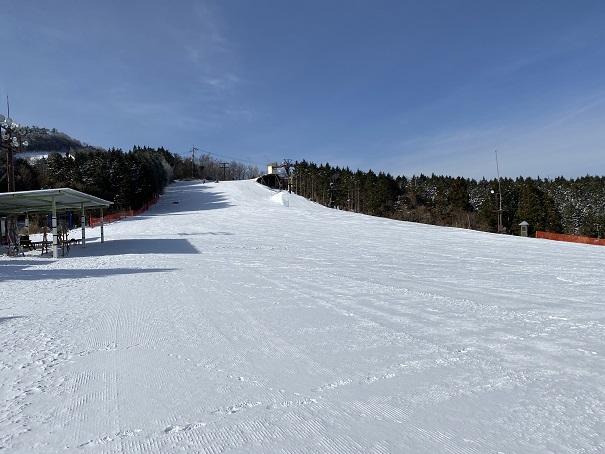 ピクニック園地(初級者コース)石鎚スキー場