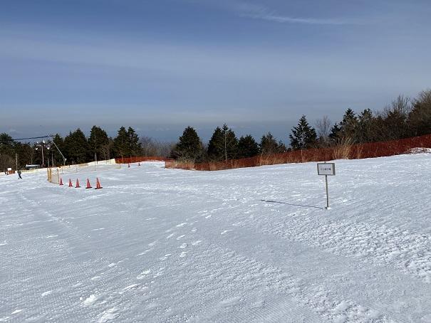 石鎚スキー場 ピクニック園地 そり