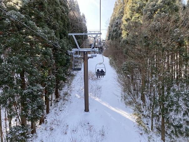 石鎚スキー場 第6ペアリフト