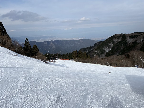 成就A(中級者コース)石鎚スキー場