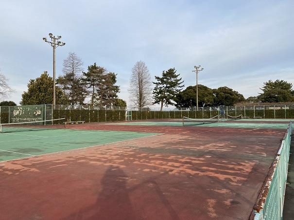 西条市西部公園 テニスコート