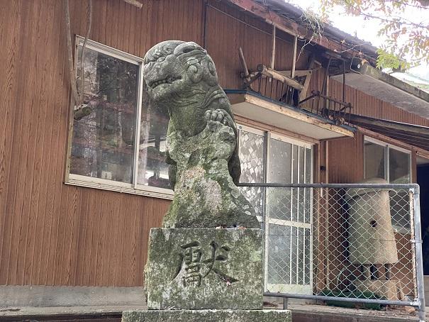 八坂神社 狛犬右
