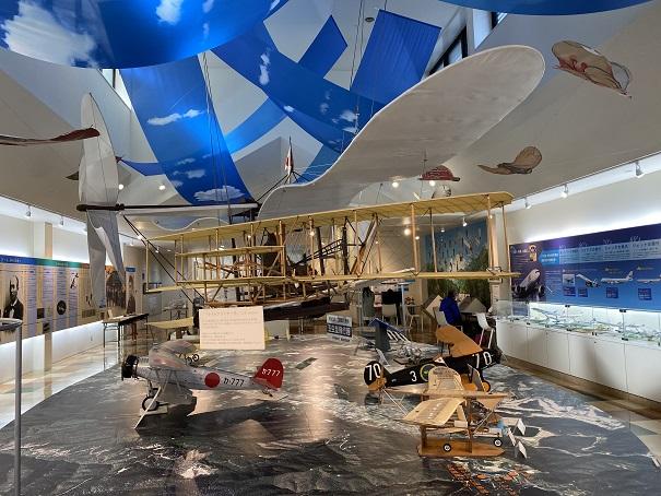 二宮忠八飛行館 模型飛行器
