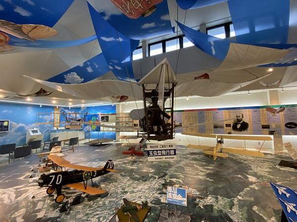二宮忠八飛行館 玉虫型飛行器