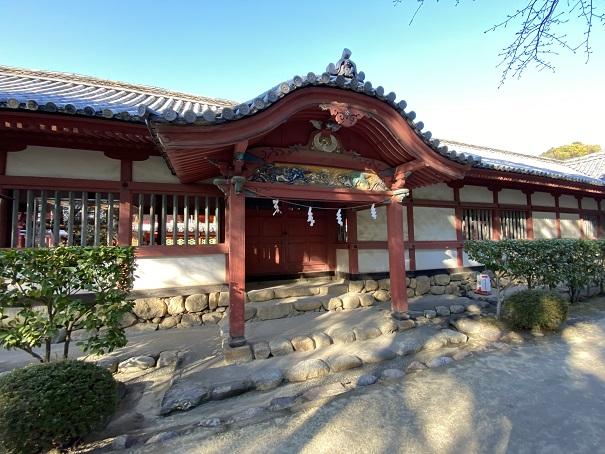 伊佐爾波神社 門