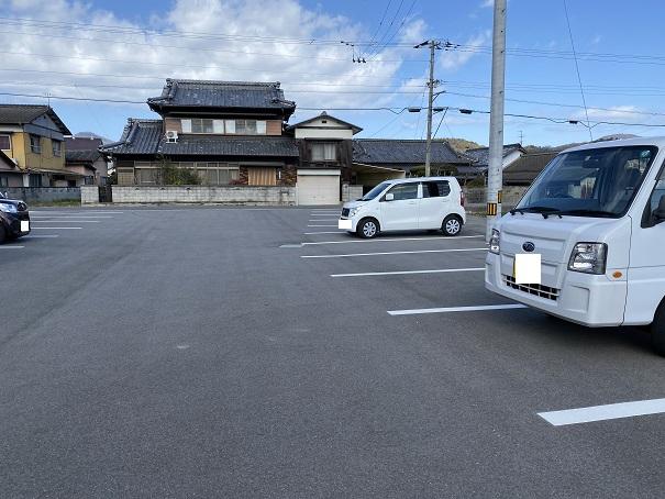食事処のどか 駐車場