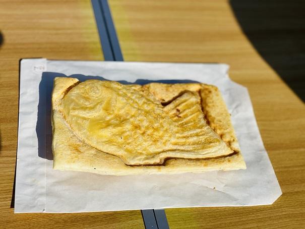 竹の子 たい焼きクリーム