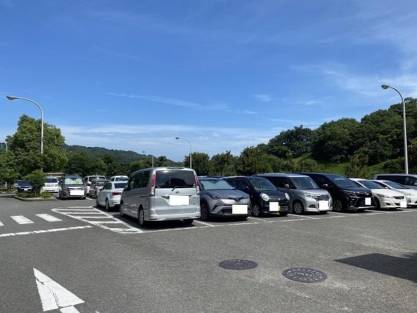 愛媛県立とべ動物園 駐車場