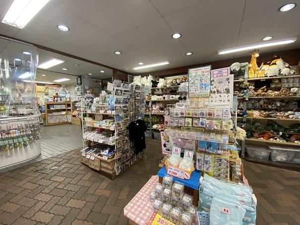 愛媛県立とべ動物園 売店内