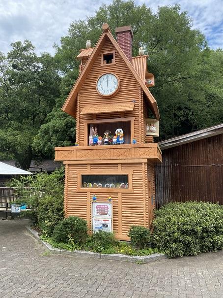 愛媛県立とべ動物園 からくり時計