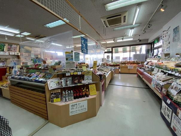 阿部みやげ品店店内風景