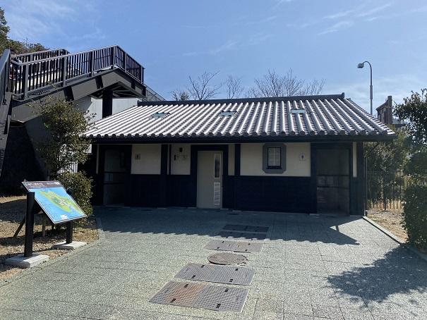 鳴門公園駐車場トイレ