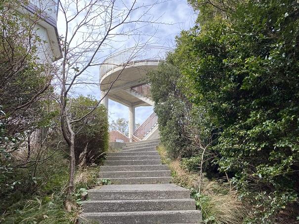 鳴門山展望台へ