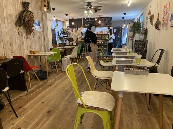 cafe kera'an(カフェ ケラアン)店内