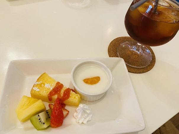 cafe kera'an(カフェ ケラアン)ドリンクミニデザート